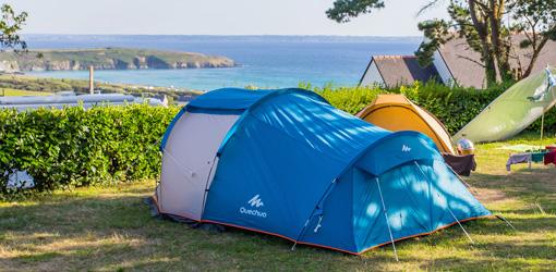 Camping Crozon vue mer Le Panoramic